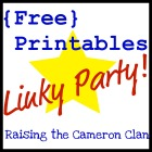 Free Printables Linky Party 140