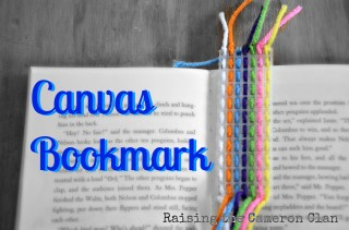 Canvas Bookmark