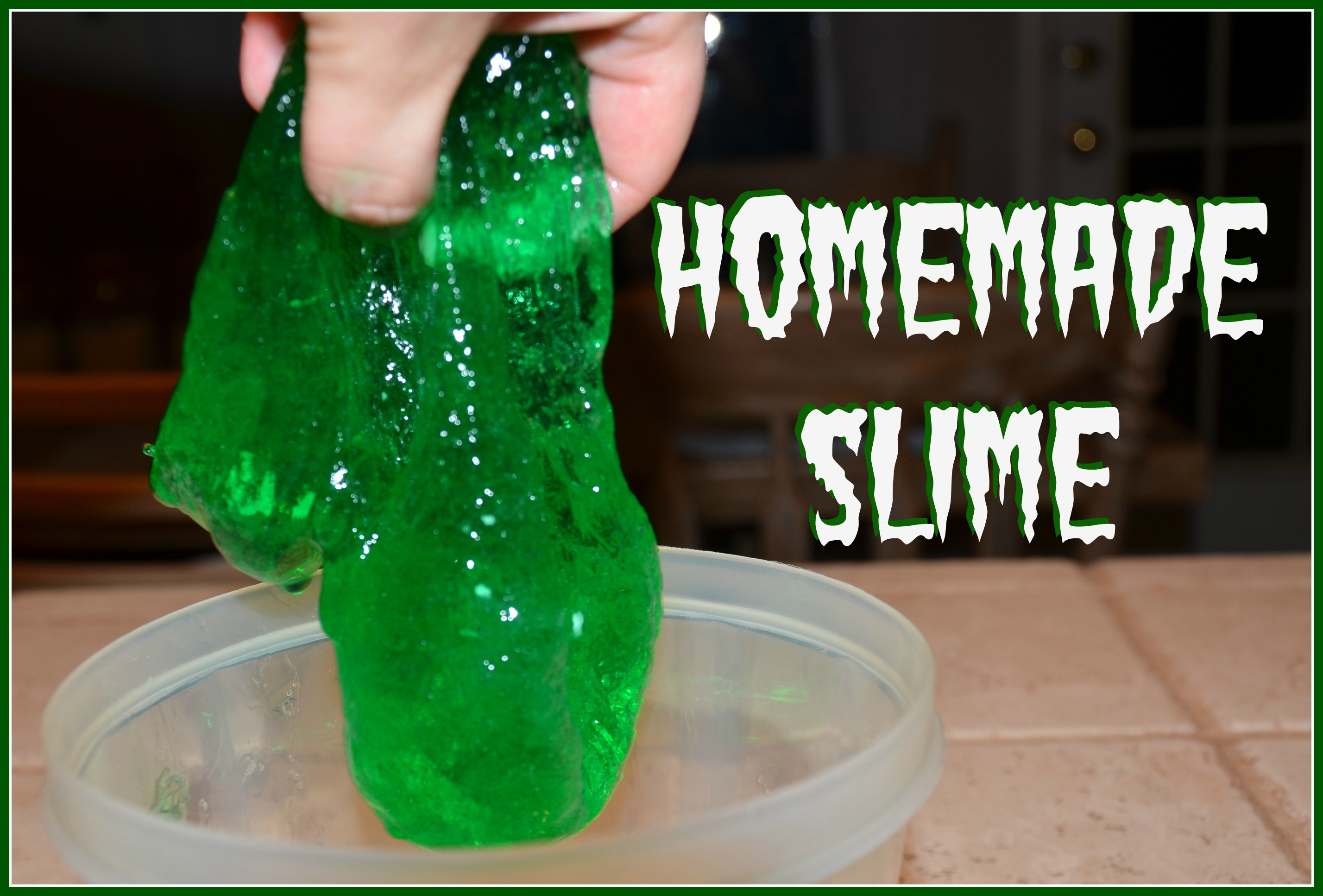 It's The Non Sticky Type Of Slime How To Make Similiar Slime No Glue  Keywords